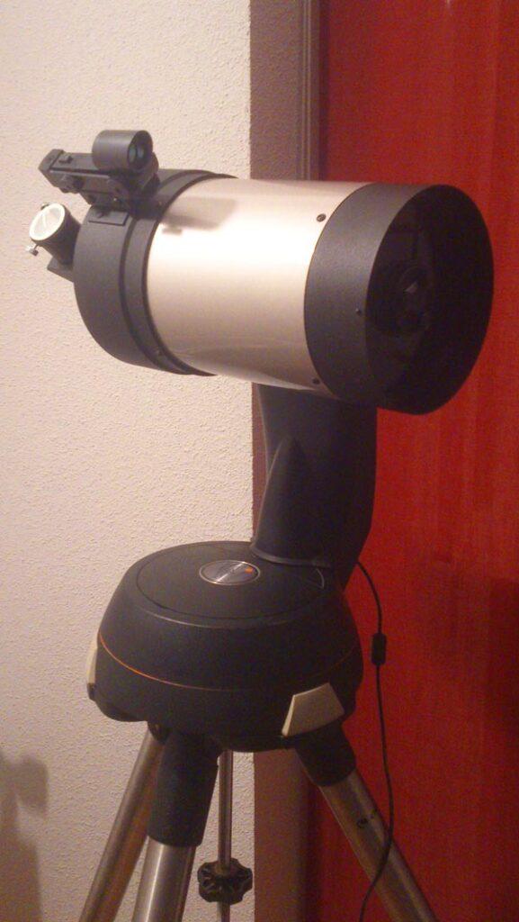Nexstar5, un telescopio muy portable ideal para practicar la astronomía desde casa