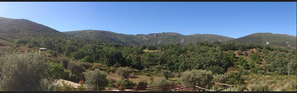 Las vistas desde El Refugio de Cristal.