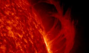 Tipos de protuberancias solares