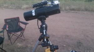 Sistema duoscope en el telescopio