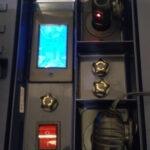 Caja de baterías para el telescopio terminada.