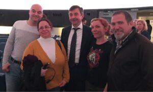 Conferencia de Alexandr Lazutkin en el Planetario de Madrid
