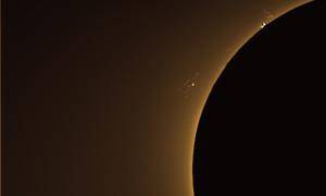Observación solar 08-12-2014