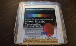 Filtro Baader H-alfa