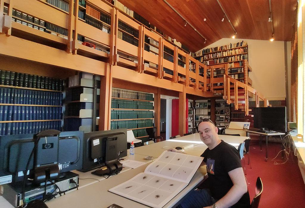 Biblioteca del Centro Astronómico de Calar Alto