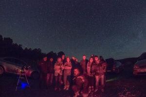 observación de estrellas fugaces