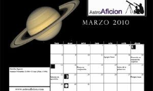 Calendario astronómico 2010