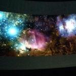Colores del cielo profundo en el Planetario de Madrid.