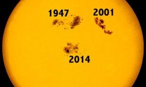 AR2192, la mayor mancha solar en dos décadas