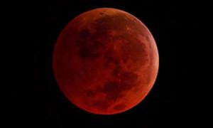 Eclipse lunar. 28 de septiembre de 2015.