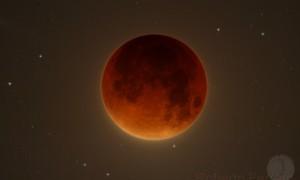 Observación del eclipse de Luna, 28/09/2015
