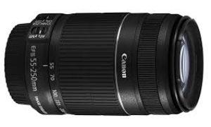 Andrómeda y el estreno del Canon EFS 55-200 ISII