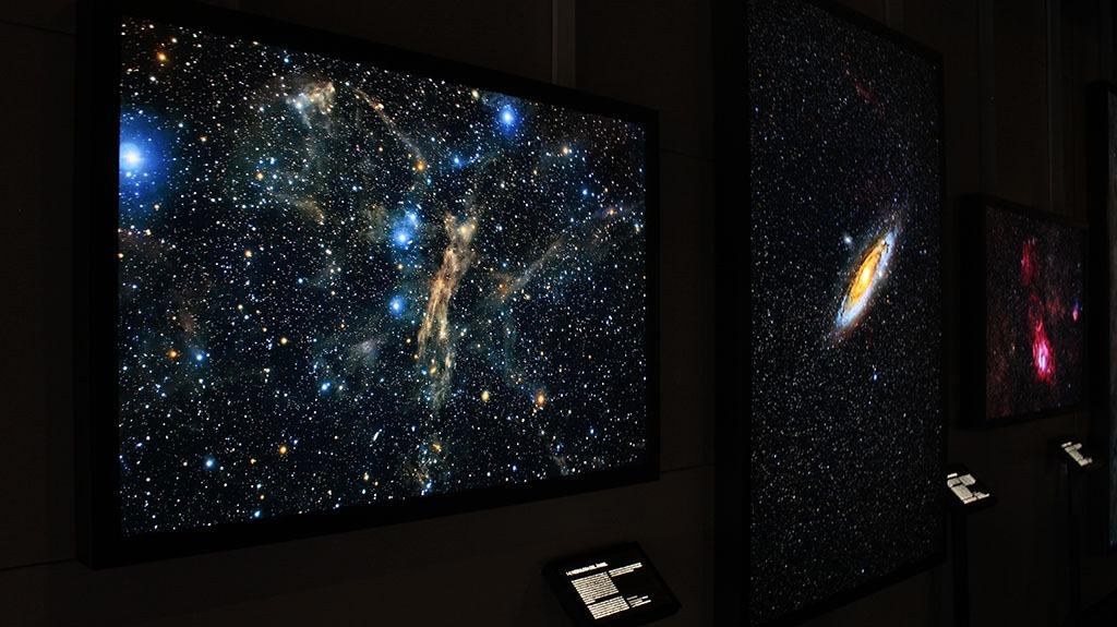 Exposición de astrofotografías de Rogelio Bernal