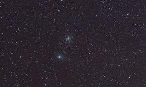 Fotografiando el cometa Garrad