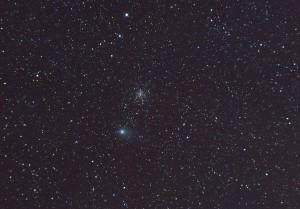 Imagen del cometa Garrad, captada por un servidor hace un par de años.
