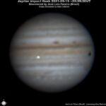 Observado un nuevo impacto en Júpiter