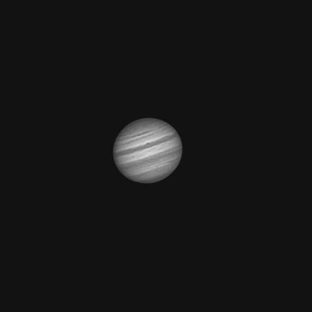 Júpiter desde Gredos, 22 de octubre de 2011