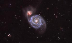 M51 en detalle
