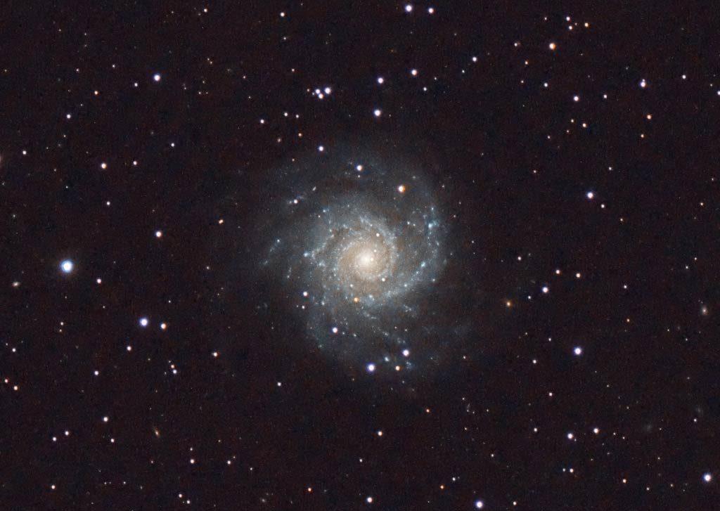 M74, uno de los objetos más difíciles de ver del Catálogo Messier