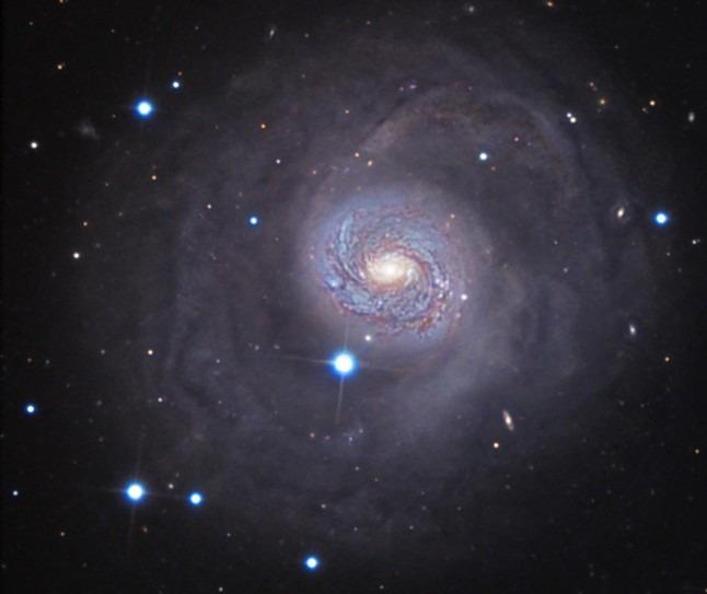 M77, galaxia Cetus