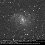 Nueva supernova en NGC6946 visible con telescopio