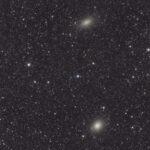 NGC147 y NGC185. Galaxias enanas en Casiopea