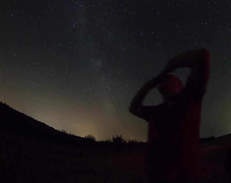 Observando la Vía Láctea con los Vixen SG 2.1x42