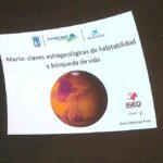 Conferencia en el Planetario de Madrid: Claves astrogeológicas de habitabilidad