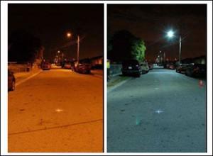 ¿Son las lámparas LED una amenaza para los astrónomos?