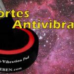 Soportes antivibración para el telescopio