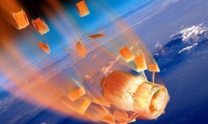 La caída de la estación espacial china Tiangong 1