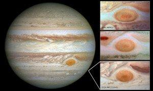 La Gran Mancha Roja (GMR) de Júpiter