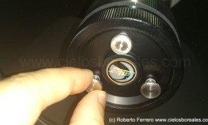 Cambio de tornillos de colimación por Bob's Knobs en un SC