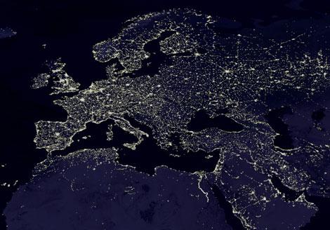 contaminación luminica