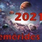 Eventos astronómicos en 2021